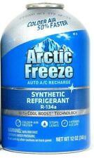 1 Arctic Freeze 12 Oz Synthetic Refrigerant R 134a Stop Leak Auto A/C Recharge