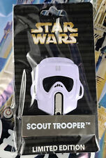 Disney Star Wars Scout Trooper Helmet Pin LE 4000