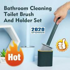 Revolutionary Silicone Flex Toilet Brush With Holder 2020 New