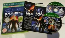XBOX 360 Mass Effect - 2 Disk Special - Classics Edition (Xbox 360) PERFECT
