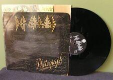 "Def Leppard ""Photograph"" 12"" NM UK Ozzy Osbourne AC/DC"