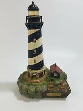"""Cape Hatteras North Carolina Lighthouse w/ Working Lights and Sounds 9"""" Tall"""