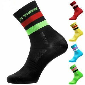 4 Pairs/lot Professional Cycling Socks Men Women Road Socks Outdoor Compression