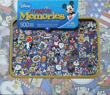 DISNEY 'MAGICAL MEMORIES' 500 PIECE JIGSAW PUZZLE ~  NEW!