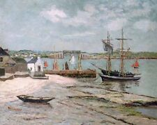 ALBERT LEBOURG les huiterieres LA TRINITE Morbihan - 24' toile