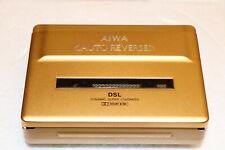 AIWA HS-P108 Gold RAR inkl. OVP Walkman Stereo Kassettenspieler Auto-Reverse
