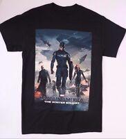 Marvel Captain America Mens T-Shirt NWT Sizes S M L XL