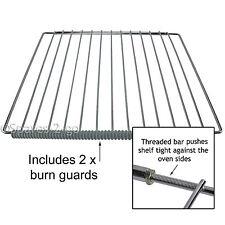 BAUMATIC Adjustable Oven Cooker  Shelf With Locking Nut Design & Burn Guards