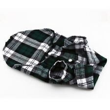 Dog Shirt Pet Dog Puppy Plaid T Shirt Pet Plaid Shirt Cat Dog T-Shirt