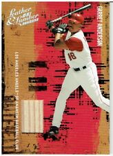 Garret Anderson 2005 Donruss Leather & Lumber Bat Card #44 026/250