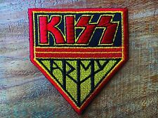 KISS Embroidered Patch Iron On Applique Rock Band Metal Heavy Punk Music Logo