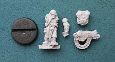 30K 40K Space Marine Imperial Guard Servitor Heavy Bolter Finecast *New* (P7)