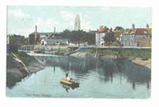 LINCOLNSHIRE - BOSTON postcard - THE FERRY - circa. 1910