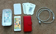 APPLE IPOD TOUCH (6th  GEN) 128GB ROSE - BOXED + ACCESSORIES + CASE BUNDLE