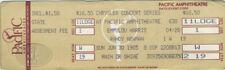 EMMYLOU HARRIS RANDY NEWMAN 1985 Unused Concert Ticket