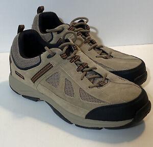 Men's Rockport XCS Tan Beige Tennis Shoes Sneakers Size 13 M K74443 EXCELLENT