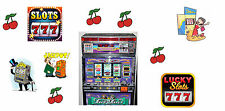 1995. ELECTRONIC SLOT MACHINE. FAN FAN. DICK TRACY STYLE, WITH TOKENS. US SELLER