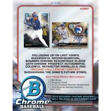 Matt Festa MARINERS 2018 Bowman Chrome HOBBY 5 CASE (60 Box) PLAYER Break