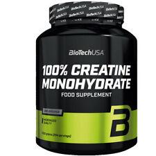 Biotech USA 1000g Micronized Creatin Monohydrat  + Shaker & Proben