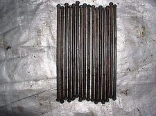 OLDS PONTIAC STYLE  ALUMINUM 215 V8 PUSH RODS SET OF 16