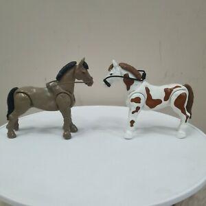Mega Bloks 2 horses toy
