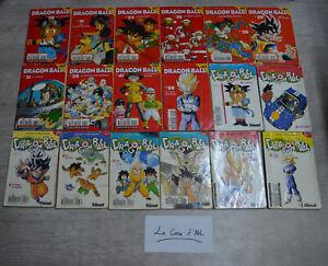 Lot de 24 mangas Dragon Ball Z divers - Glénat petits volumes