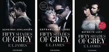 Fifty Shades of Grey Die Bücher zum Film von E L James Shades Geheimes Verlangen