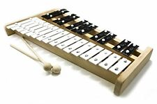 ProKussion Professional Wooden Soprano Glockenspiel Xylophone with Case