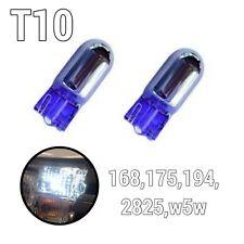 Super White T10 168 194 2825 w5w 175 Reverse Backup Light Chrome Bulbs A1 AX