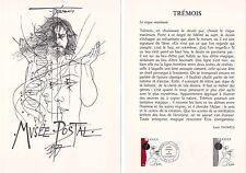 Document Philatélique Timbre  1er Jour : 17/09/ 1977 - Trémois Musée Postal