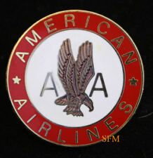 AMERICAN AIRLINES LAPEL HAT PIN AA TIE TAC PILOT Stewardess Aircrew EAGLE WOW