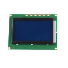 St7920 12864 128x64 lcd display blue backlight parallel serial arduino 5v