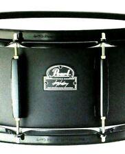 "PEARL 13x6.5"" Joey Jordison Signature Snare Drum Black Steel Slipknot Authentic"
