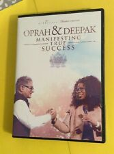 Oprah & Deepak Manifesting True Success  21 Day 2015 6 CD set