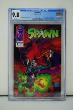 IMAGE COMICS CGC 9.8 SPAWN 1 5/92 WHITE PAGES