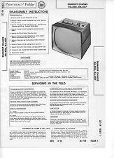 Sams PhotoFact TV DUMONT CHASSIS RA-406, RA-407