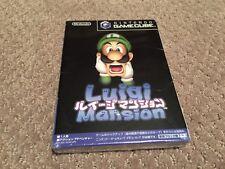 Luigi's Mansion Nintendo GameCube Japan Version Factory Sealed