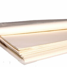 100 Sheets  White Greaseproof Paper - Non Stick Coating - 200 × 330 mm