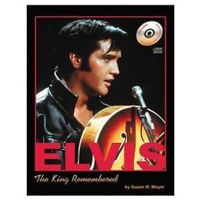 Elvis, the King remembered by Susan M. Moyer (book+CD)