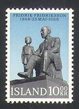 Islande 1968 PASTEUR Fridriksson/Gens/STATUE/YMCA/YWCA/bien-être 1 V (n36277)