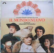 Soundtrack IL MONDO NUOVO Armando Trovajoli Ettore Scola LP  vinile SIGILLATO