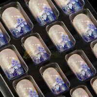 Press On Artificial Nails Acrylic Full Nail Tips Salon Manicure Finger Decor New