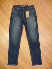 Womens NEW American Eagle Vintage Hi Rise Stretch Medium Denim Jeans 10 X-long