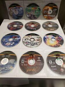 Loose Lot of 12 Xbox Games - Forza, Ninja Gaiden, Doom, NightCaster, Narc