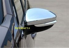 Chrome side mirror cover Trim For Peugeot 2008 & 208 2013 2014 2015 2016 2017