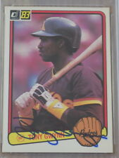 Tony Gwynn Signed 1983 Donruss Rookie Card #598 PSA DNA Padres HOF
