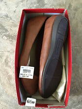 Amerian eagle By Payless Women Brown Flats Size 6.5 W Shoes NWTS.