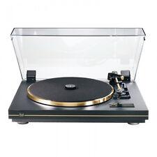 Dual CS 455-1 Plattenspieler (Schwarz Gold) incl. Tonabnehmer Ortofon OMB 10