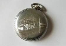 Ingersoll-Trenton 15 Jewel Open Face Railroad Pocket Watch 1903-1907 Side Winder