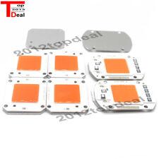 50W LED COB chip de espectro completo DC12V 32V, integrado inteligente IC Controlador 220V 110V